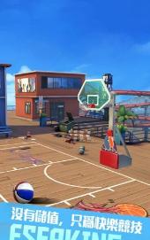 我篮球玩得特牛